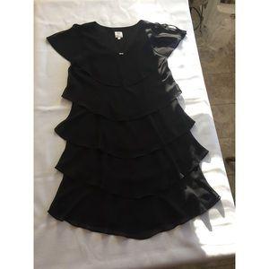 PATRA ; Georgette Five Tiered Dress (16)